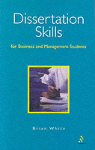 Dissertation skills business management students white