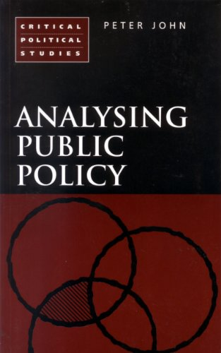 9780826454249: Analysing Public Policy (Critical political studies)