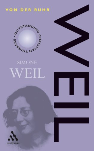 9780826458230: Simone Weil (Outstanding Christian Thinkers)