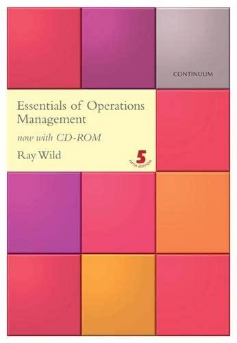 9780826458285: Essentials of Operations Management