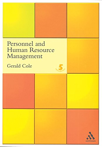 9780826458636: Personnel and Human Resource Management
