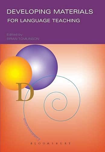 9780826459176: Developing Materials for Language Teaching