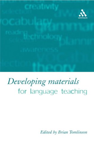 9780826459183: Developing Materials for Language Teaching