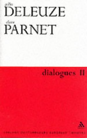 9780826459190: Dialogues (Athlone contemporary European thinkers)