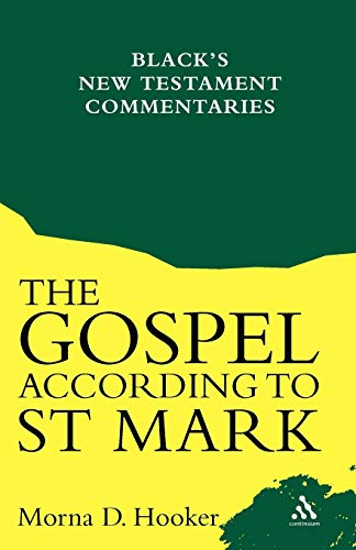 9780826460394: The Gospel According To St. Mark (Black's New Testament Commentaries)