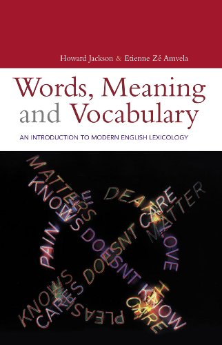 9780826460967: Words, Meaning and Vocabulary: An Introduction to Modern English Lexicology (Open Linguistics)