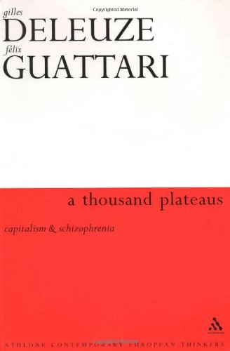 9780826460998: Thousand Plateaus
