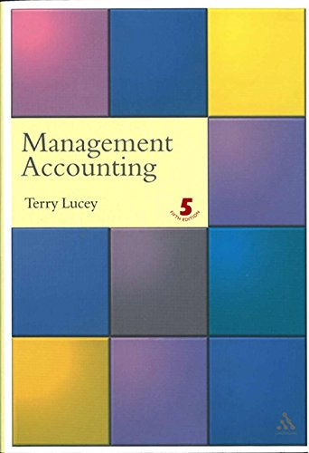 9780826463609: Management Accounting