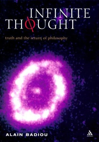 9780826467249: Infinite Thought: Truth and the Return to Philosophy