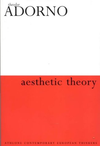 9780826467577: Aesthetic Theory (Athlone Contemporary European Thinkers)