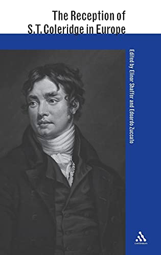 9780826468451: The Reception of S. T. Coleridge in Europe (The Reception of British and Irish Authors in Europe)
