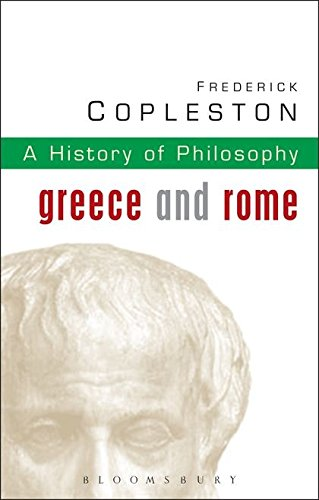 9780826468956: History of Philosophy Volume 1: Greece and Rome