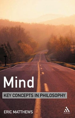 9780826471116: Mind (KEY CONCEPTS IN PHILOSOPHY)