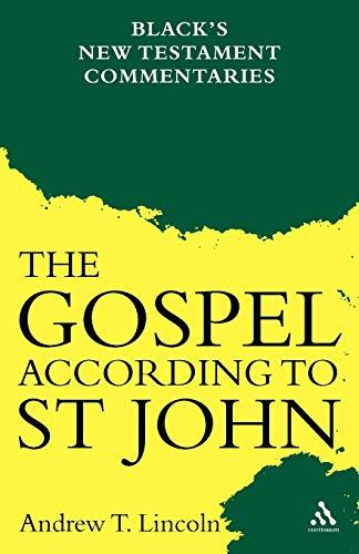 9780826471390: Gospel According to St John: Black's New Testament Commentaries
