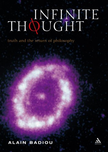 9780826473202: Infinite Thought: Truth and the Return to Philosophy