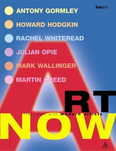 9780826473769: Art Now: Interviews with Modern Artists