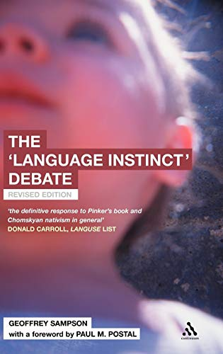 9780826473844: The 'Language Instinct' Debate