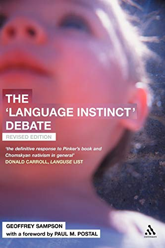9780826473851: The 'Language Instinct' Debate