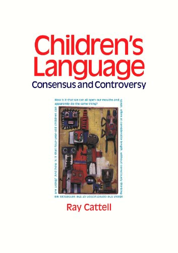 9780826474155: Children's Language: Consensus and C