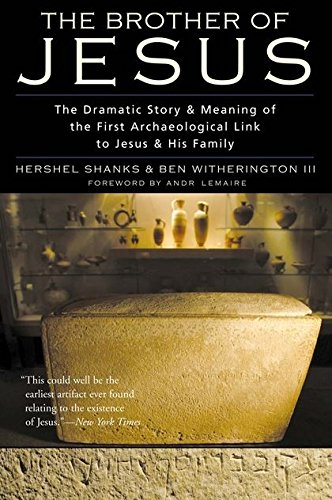 9780826474308: Brother of Jesus: The Dramatic Story and Meaning of the First Archaeological Link to Jesus and His Family
