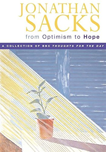9780826474810: From Optimism to Hope