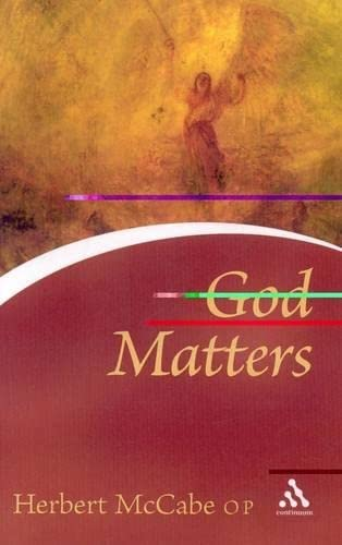 9780826476685: God Matters (Continuum Icons)