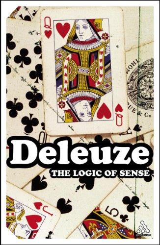 9780826477163: The Logic of Sense: 10 (Continuum Impacts)
