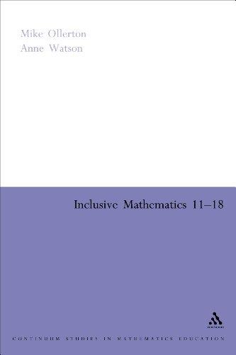 9780826477477: Inclusive Mathematics 11-18 (Continuum Collection)