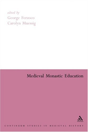 9780826477668: Medieval Monastic Education (Continuum Guide to Medieval History)
