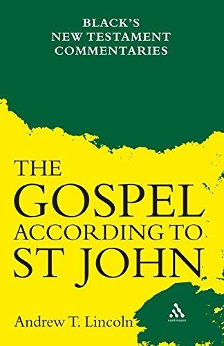 9780826479433: Gospel According to St John: Black's New Testament Commentaries