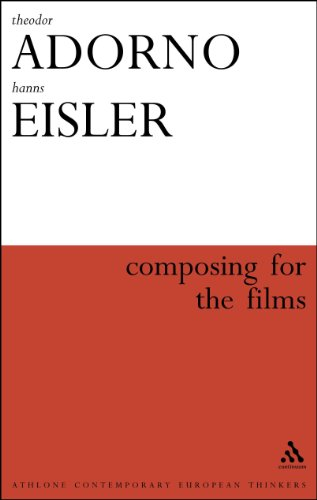 9780826480163: Composing for the Films (Athlone Contemporary European Thinkers)