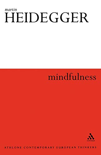 9780826480828: Mindfulness (Athlone Contemporary European Thinkers)
