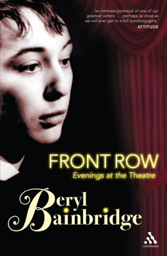 9780826482785: Front Row: Evenings at The Theatre