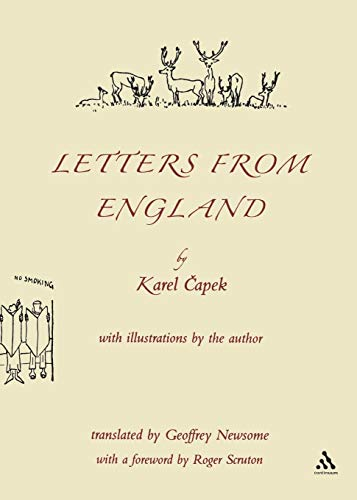 Letters from England (0826484859) by Capek, Karel; Newsome, Geoffrey