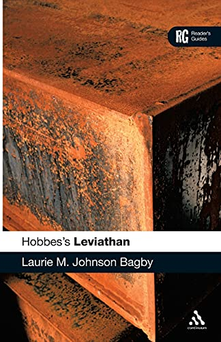 "HOBBES'S ""LEVIATHAN"" A READER'S GUIDE BY BAGBY,: Laurie M. Johnson"
