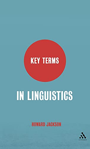 9780826487414: Key Terms in Linguistics
