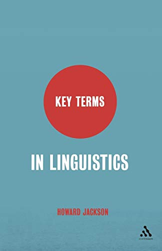 9780826487421: Key Terms in Linguistics