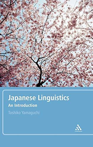 9780826487896: Japanese Linguistics: An Introduction