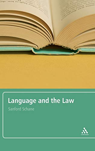 9780826488282: Language and the Law: With a Foreword by Roger W. Shuy