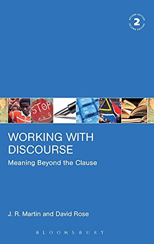 9780826488497: Working with Discourse: Meaning Beyond the Clause (Open Linguistics)