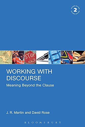 9780826488503: Working with Discourse: Meaning Beyond the Clause (Open Linguistics)