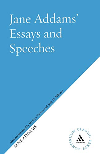 Writings on peace : [essays and speeches].: Addams, Jane.