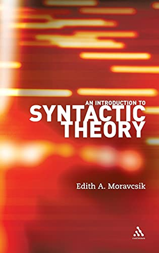 9780826489432: An Introduction to Syntactic Theory