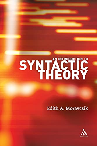 9780826489449: An Introduction to Syntactic Theory