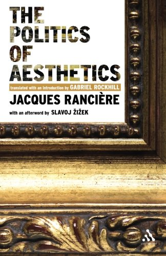 9780826489548: The Politics of Aesthetics (Continuum Impacts)