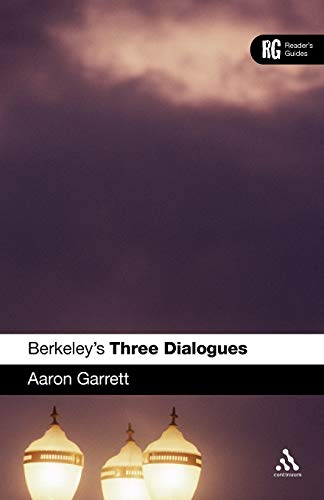 9780826493231: Berkeley's 'Three Dialogues': A Reader's Guide (Reader's Guides)