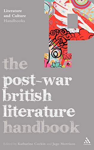 9780826495013: The Post-War British Literature Handbook (Literature and Culture Handbooks)