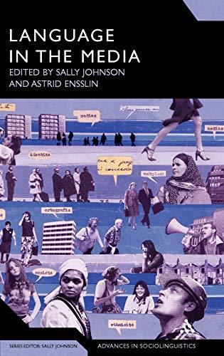 9780826495488: Language in the Media: Representations, Identities, Ideologies (Advances in Sociolinguistics)