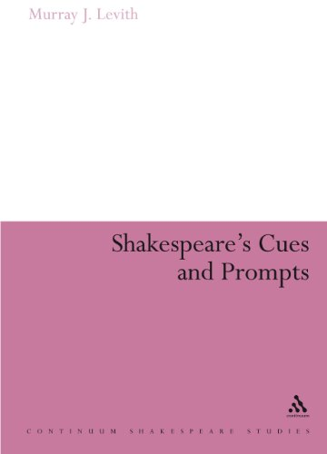 9780826495976: Shakespeare's Cues and Prompts