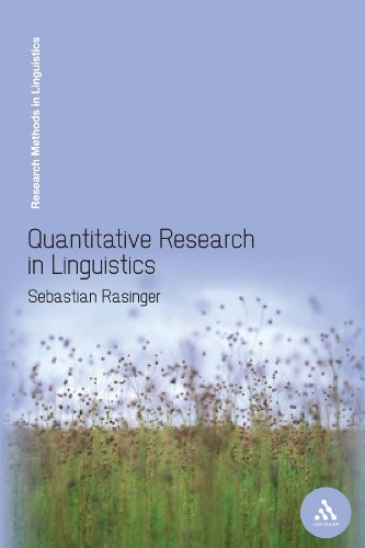 9780826496027: Quantitative Research in Linguistics: An Introduction (Research Methods in Linguistics)